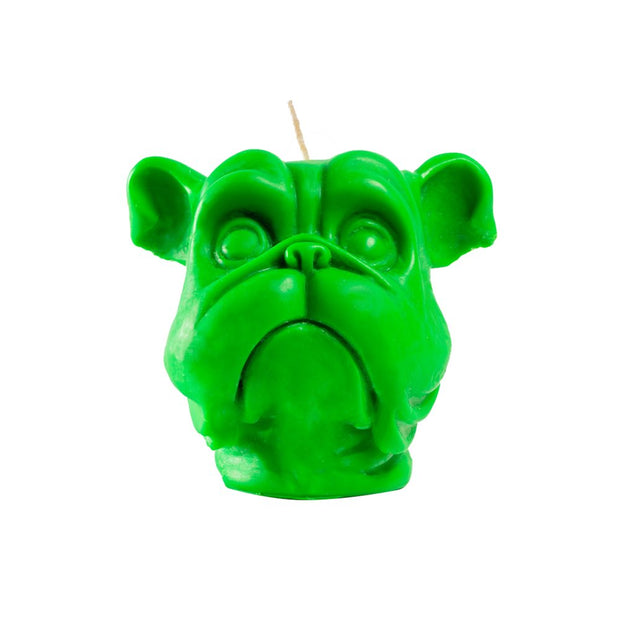 Green Dog Candle