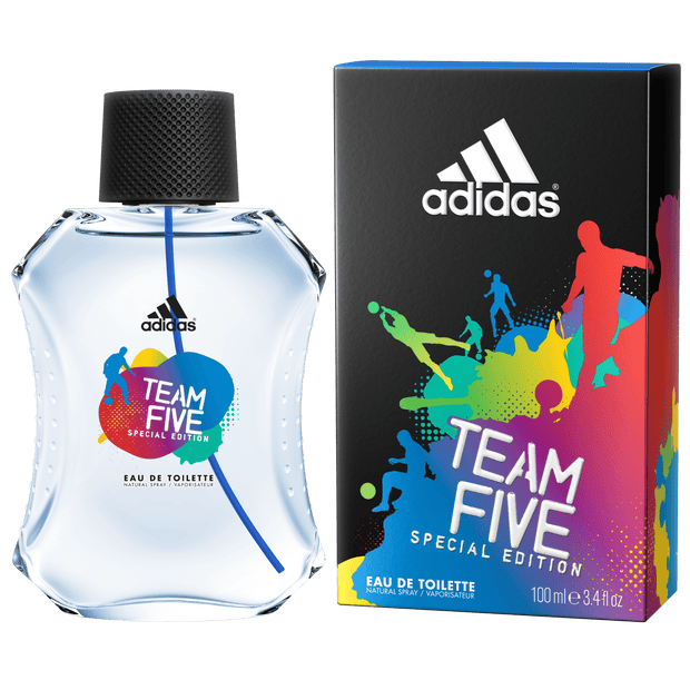 PERFUME PARA HOMBRE ADIDAS TEAM FIVE 100ML