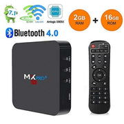 Tv Box Mxq Pro 4K Android 7 Bluettoth Memoria 2+16gb +control