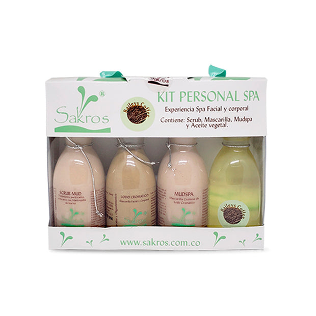 KIT PERSONAL SPA BAILEYS CAFE 4 productos x 80 c.c.