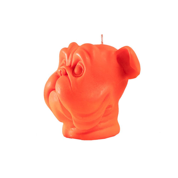 Orange Dog Candle