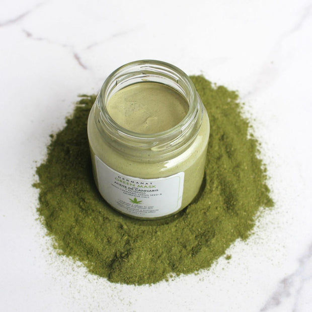 Green Mask- Mascarilla Facial con Cannabis y Moringa