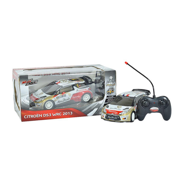 Carro a escala 1:16 4CH R/C Citroen DS3 WRC 2013 3+