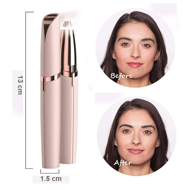 Depilador Cejas Recargable Sin Dolor Portable Flawless Brows