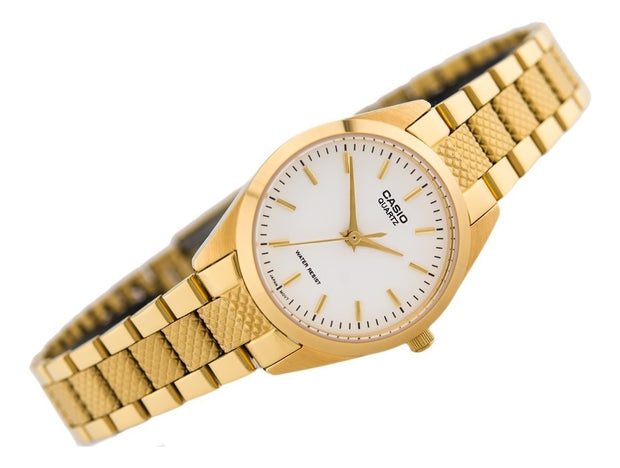 Reloj Casio  Dama Ltp-1274G-7A Color Dorado Original