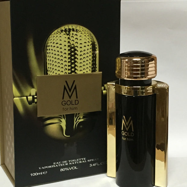 PERFUME PARA HOMBRE VICTOR MANUELLE GOLD 100 ML