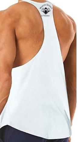 "Men's Fitness Tank Top Tee ""Lift Like A Champion"""