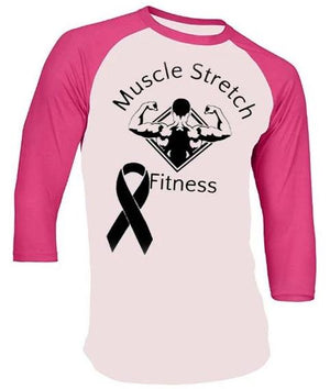 Women's Breast Cancer 3/4 Sleeve Shirt