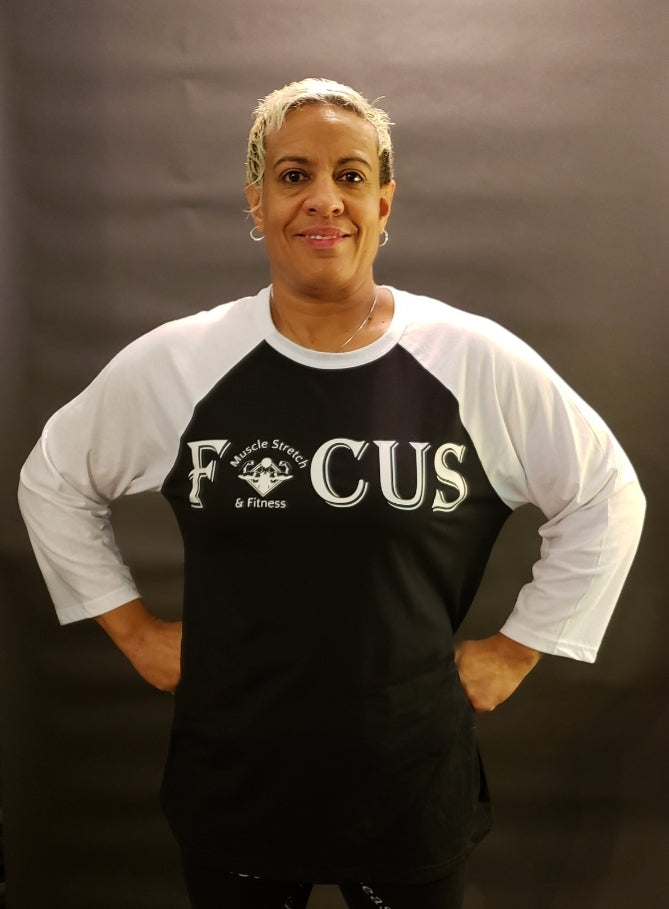 "Men & Women's ""FOCUS"" 3/4 sleeve shirt"