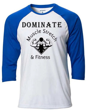 "Men's 3/4 Sleeve ""Dominate"""