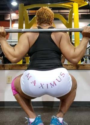 "Women's ""Maximus"" Workout Shorts"