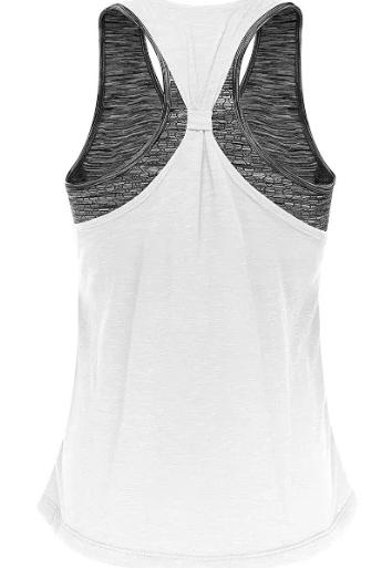 Women's Yoga Top With Built In Bra