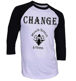 "Men's 3/4 Sleeve ""Change"" Shirt"