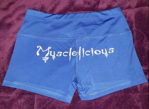 "Women's ""Musclelicious"" Workout Shorts"