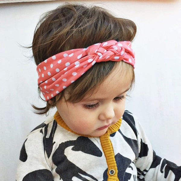 Dot Baby Girl Hairband