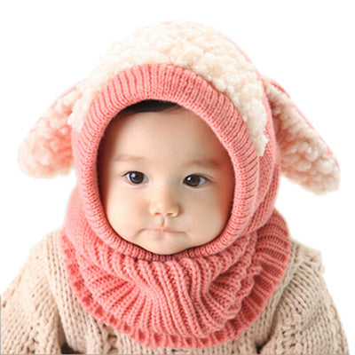 Crochet Knitted Baby Hat