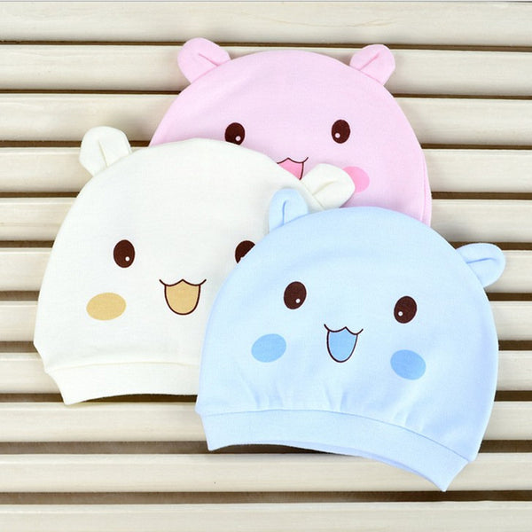 Cartoon Binaural Baby Hat