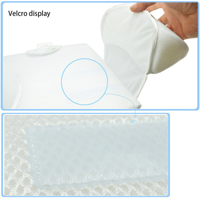 Baby Care Infant Newborn Anti Roll Pillow Ultimate Vent Sleep Fixed Positioner Waist Support Prevent Flat Head Cushion