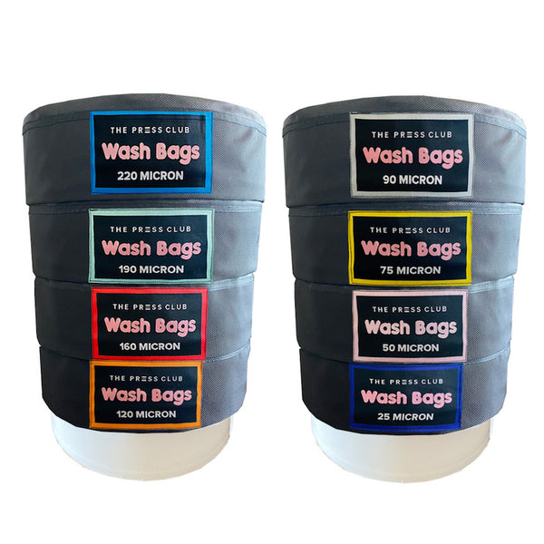 THE PRESS CLUB BEST QUALITY BUBBLE HASH WASH BAGS