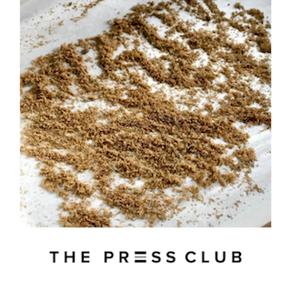 THE PRESS CLUB DRYING BUBBLE HASH MICROPLANE SIEVE