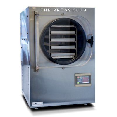THE PRESS CLUB HOW DOES A FREEZE DRYER WORK