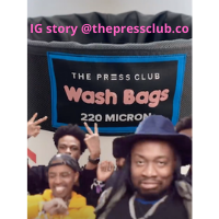 THE PRESS CLUB MULTIPLE WASH BAGS IG STORY