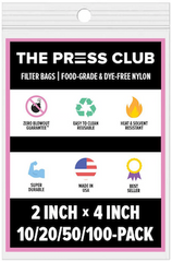 THE PRESS CLUB WHY HOW TO DOUBLE BAG ROSIN BAGS