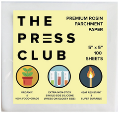 The Press Club Parchment Paper Rosin Storage