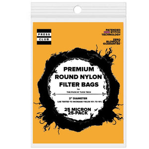 LIMITED-EDITION: ROUND ROSIN BAGS
