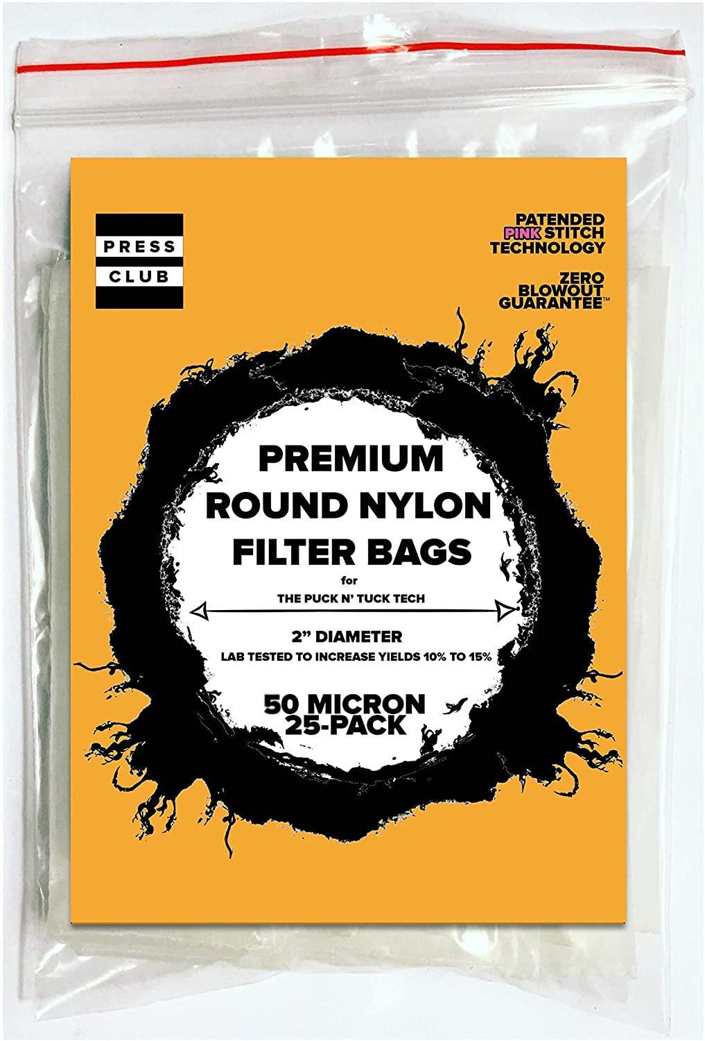 LIMITED-EDITION: ROUND ROSIN BAGS - The Press Club
