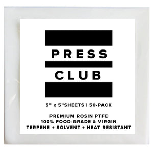 "5"" x 5"" PTFE SQUARES - The Press Club"