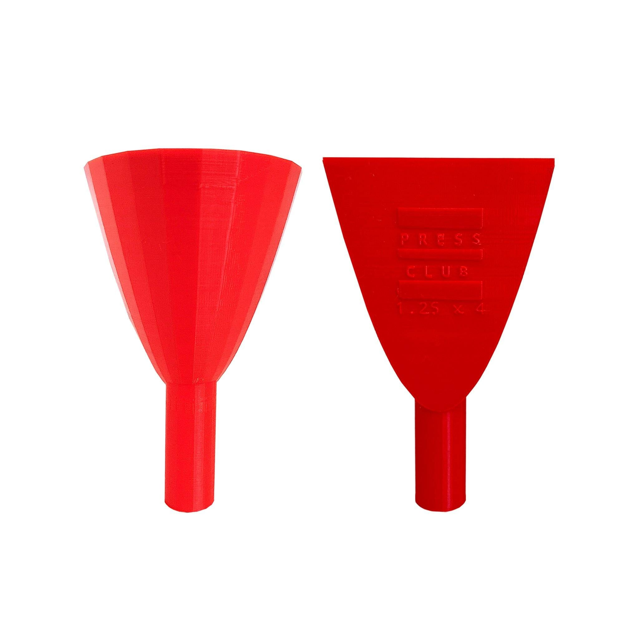 "1.25"" ROSIN BAG FUNNEL"