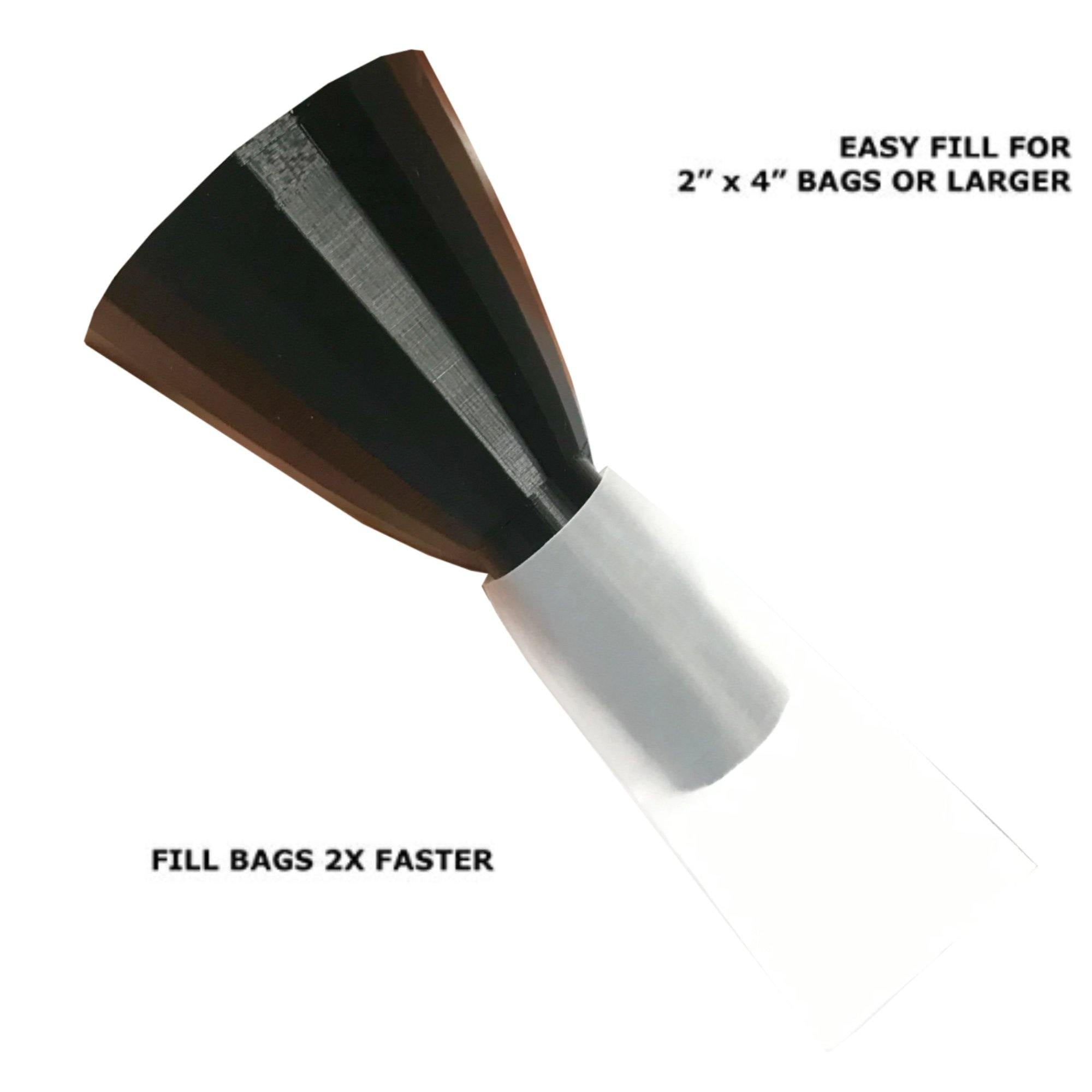 "2"" x 4"" ROSIN BAG FUNNEL"