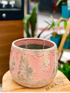 XL Light Pink Ceramic Pots