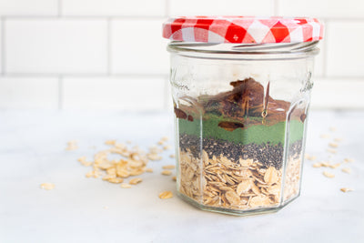 Apple Struedal Overnight Oats
