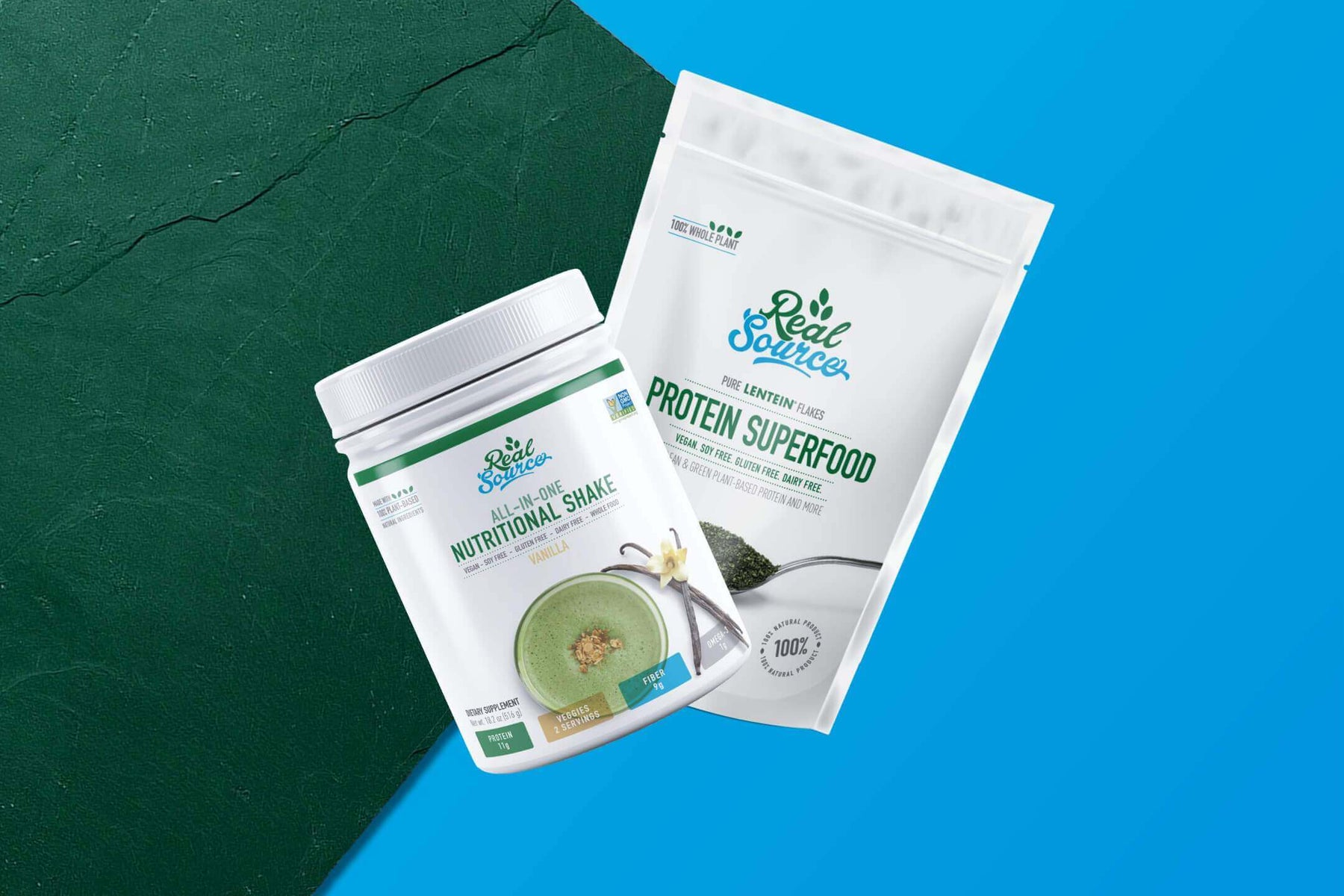 Green Nutrition - Made with LENTEIN® and Pure LENTEIN Flake Protein Superfood