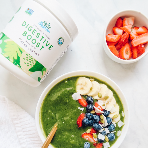 Adaptogens & Greens Digestive Boost Powder