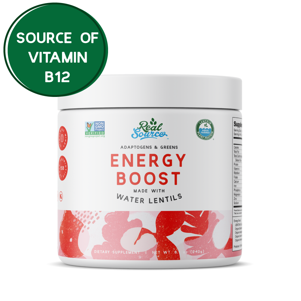 Adaptogens & Greens Energy Boost Powder