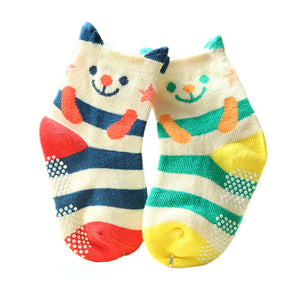 Cotton Socks Baby Kids Socks Baby Toddler Anti Slip Skid Socks