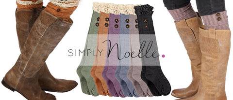 Simply Noelle Boot Socks and Headbands