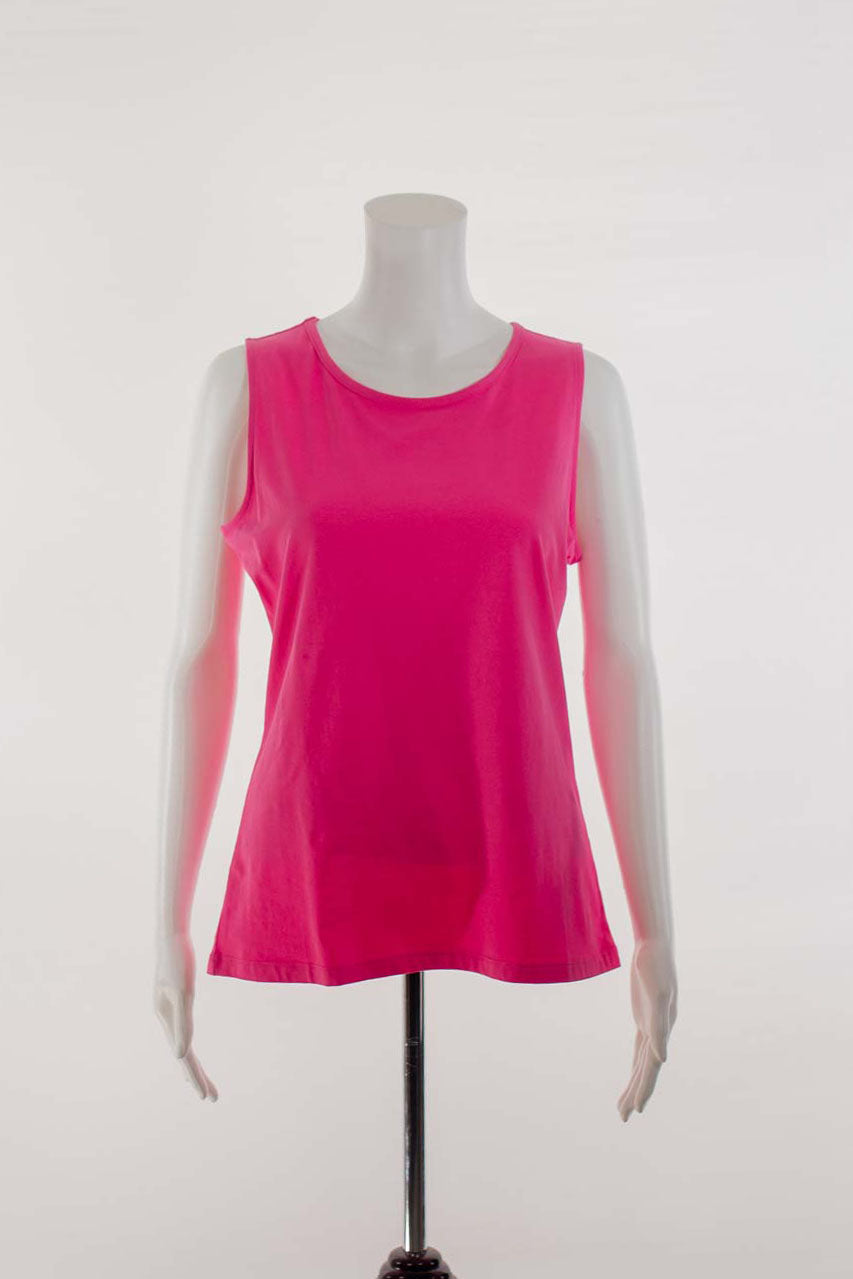 Combed Cotton Tank Top