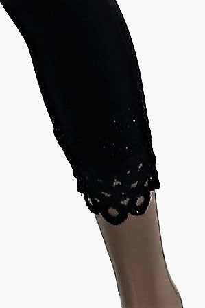 Lace Cuff Legging