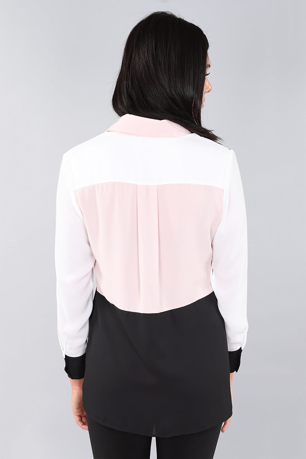 Colour Block Blouse