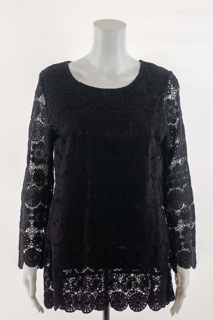 Lace Look Tunic