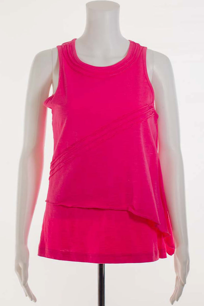 Ribbed Cotton Tank