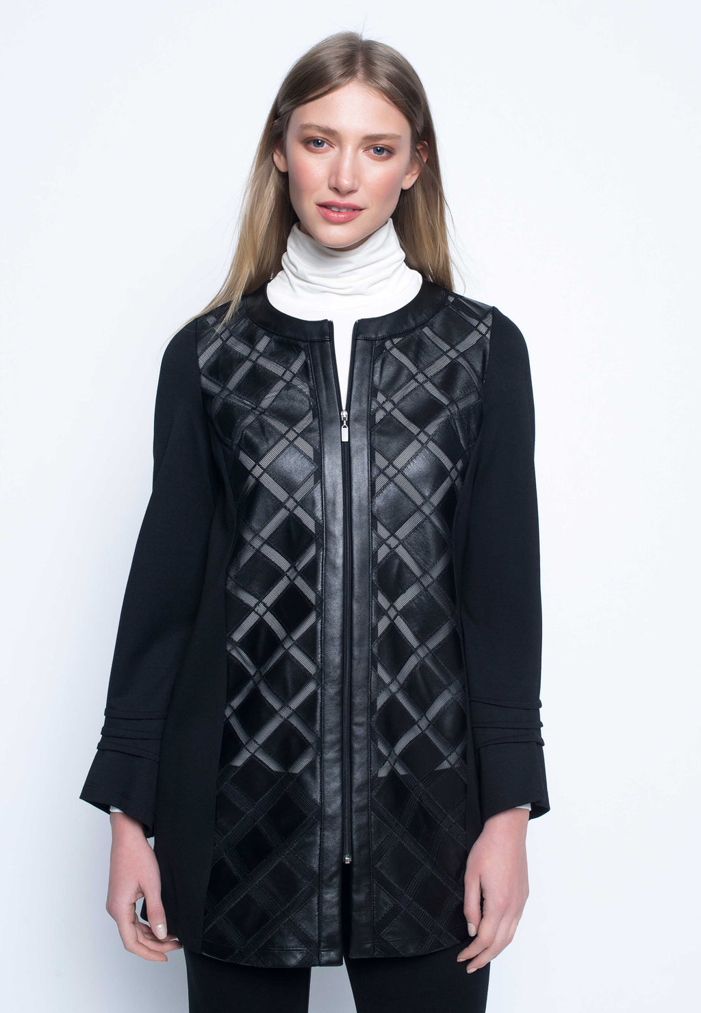Diamond Basket Weave Jacket