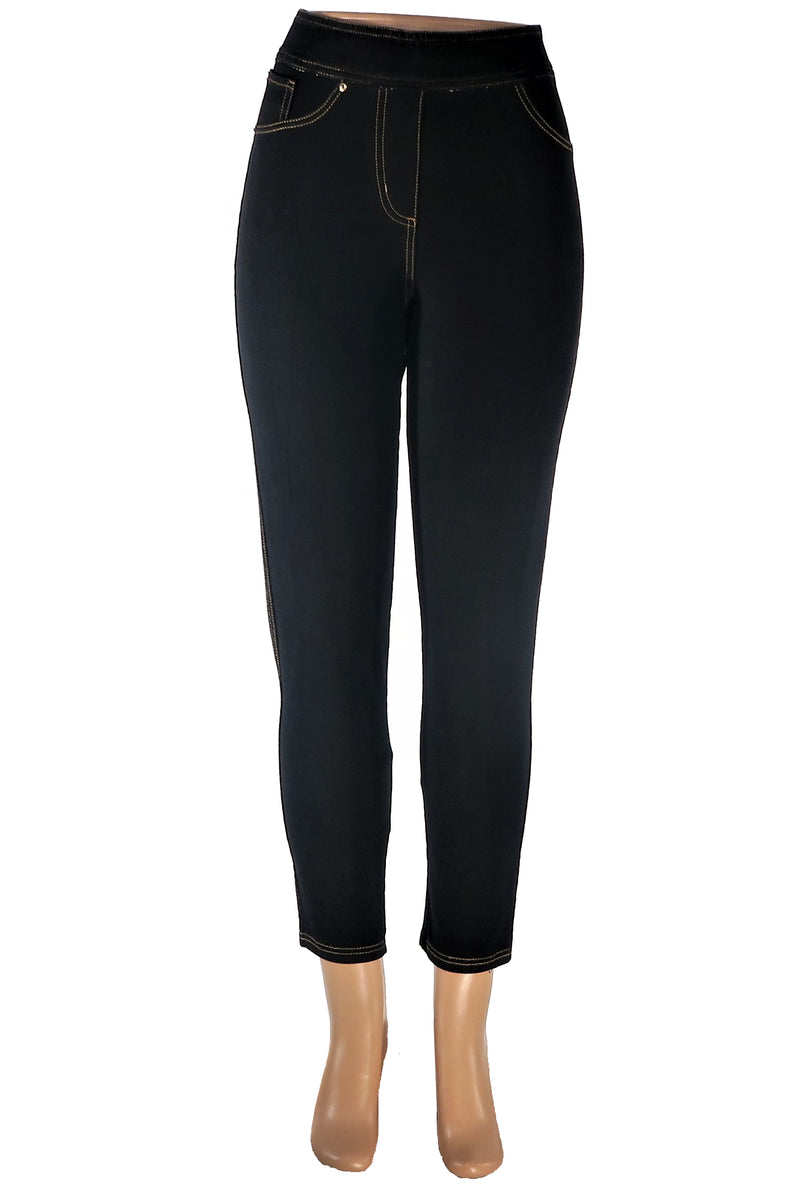 Jean Stitched Ankle Legging