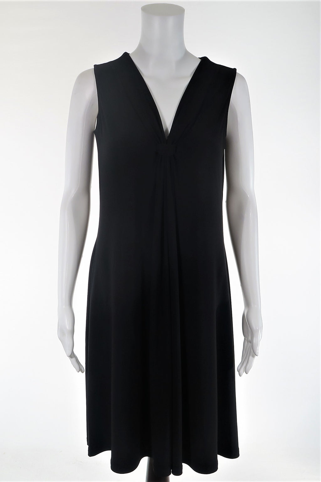 Gathered Front A-Line Dress