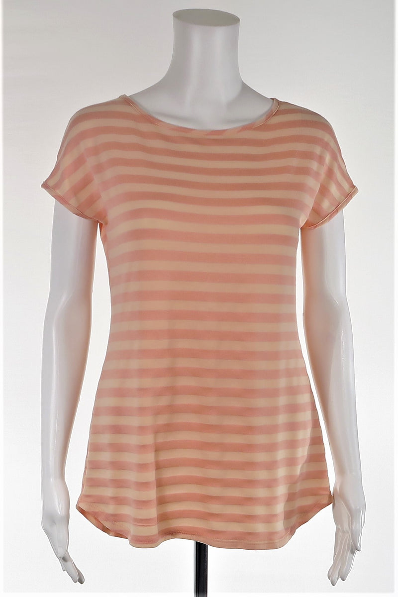 Striped Cap Sleeve Top