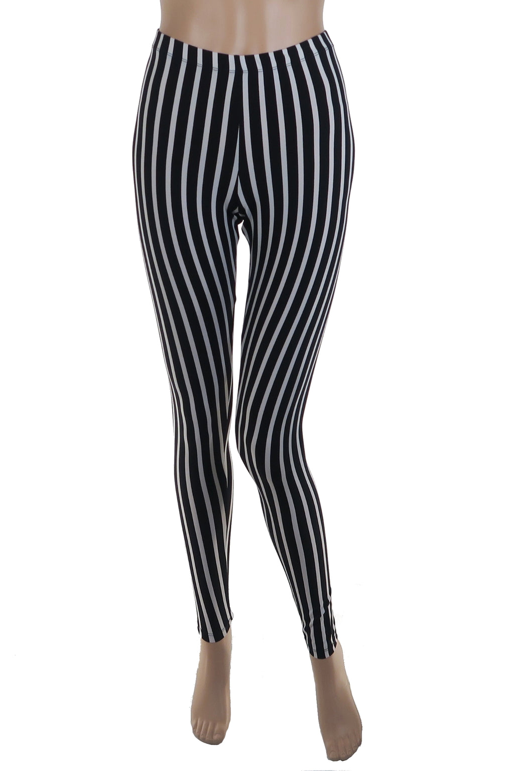 Knit Striped Legging